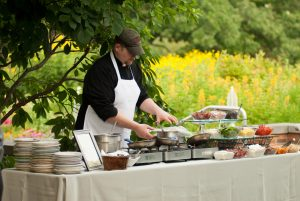 Outdoor Omelet Station