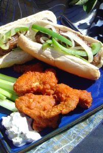 Brats and Wings