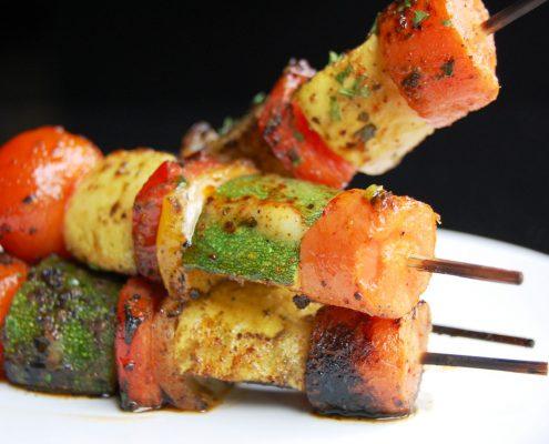 Vegan Kebabs