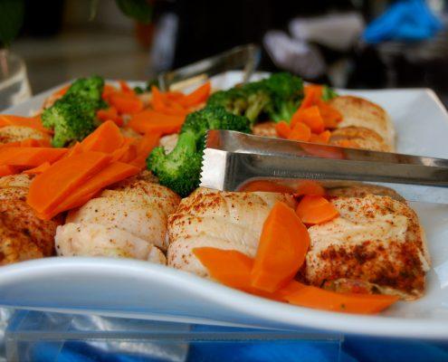 Roast Chicken Platter