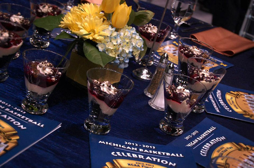 Catering at University of Michigan Events