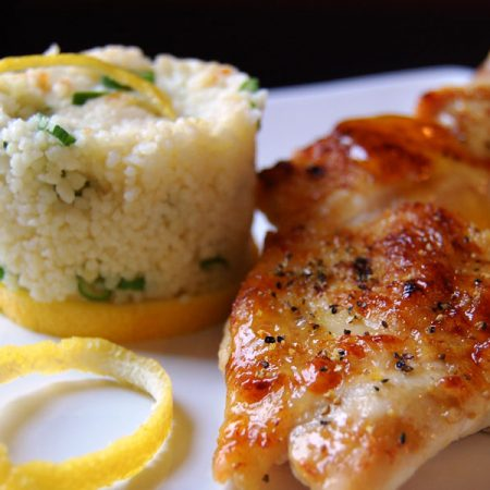 Chicken and Couscous Entree