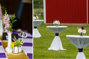 Adding personal flair to your outdoor event