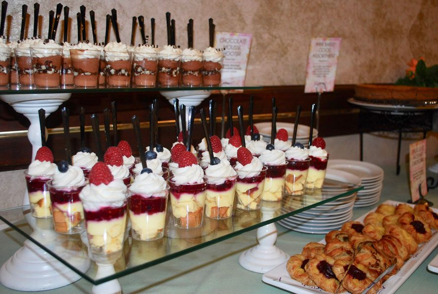 Dessert Station at Summit on the Park Event