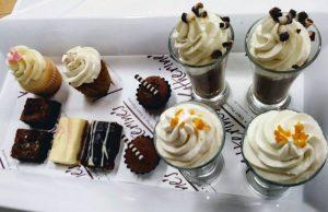 Assortment of Creative Desserts and Treats