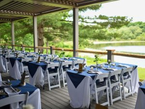 Event by Katherines Catering at Camp Woodbury