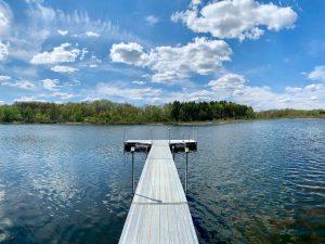 Nordman Lake at Camp Woodbury