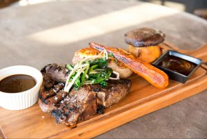Grilled Flank Steak Platter