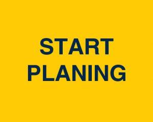 start planning button