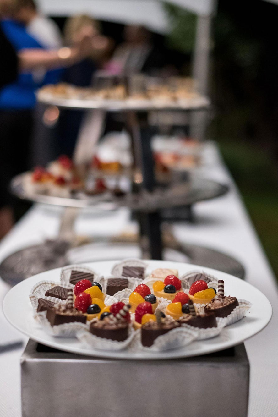 Sweets and Dessert Station at Wedding
