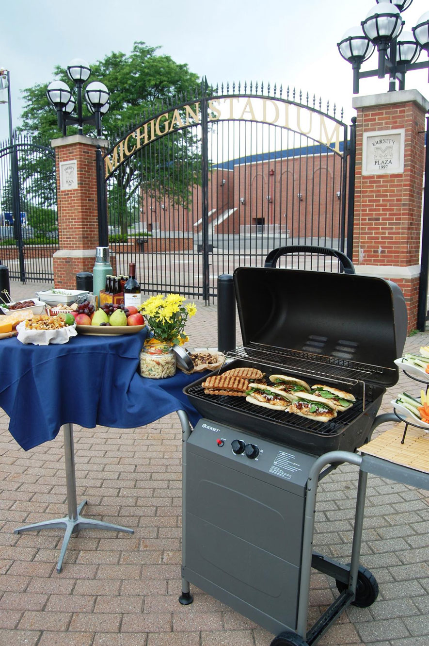 Company Picnics Grilling Outdoors