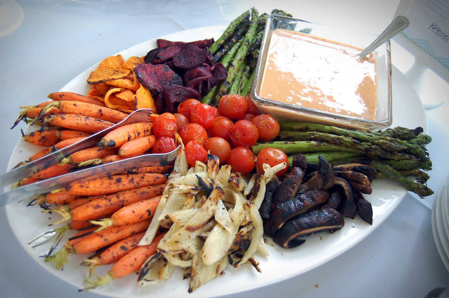 Vegetable Platter from Local Farms